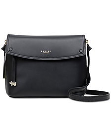 Radley London Flapover Leather Crossbody