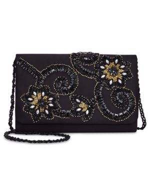 Image of Adrianna Papell Beaded Clutch