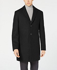 Men's Classic-Fit Topcoat, Created for Macy's
