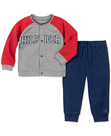 Tommy Hilfiger Baby Boys 2-Pc. Varsity Jacket & Pants Set