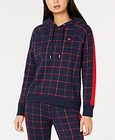 Tommy Hilfiger Sport Plaid Hoodie, Created for Macy's