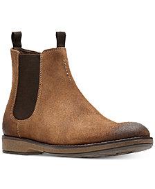 Clarks Men's Hinman Suede Chelsea Boots