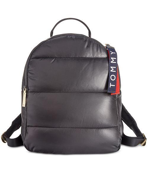 6a1b243033ba Tommy Hilfiger Ames Puffy Nylon Backpack - Handbags   Accessories ...