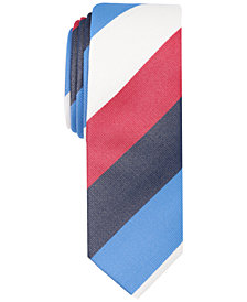 Original Penguin Men's Gustafsson Stripe Skinny Tie