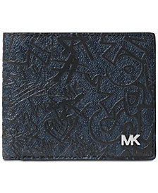 Michael Kors Men's Jet Set Printed Wallet