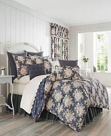 Piper & Wright Braylee Indigo Queen Comforter Set