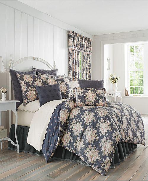Piper & Wright Braylee Indigo Bedding Collection