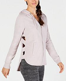 Calvin Klein Performance Cutout-Sides Zip Hoodie
