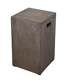 Squared Concrete Stool