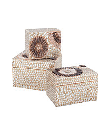 Small Capiz Shell Urchin Boxes