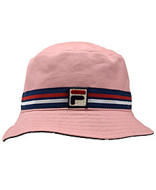 Fila Cotton Reversible Cotton Bucket Hat