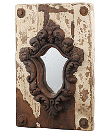 Acantha Distressed Finish Wall Mirror