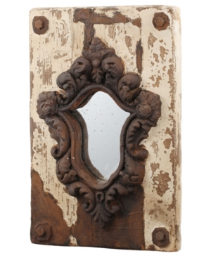 Image of Acantha Distressed Finish Wall Mirror