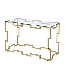 Talliston Gold Sofa Table