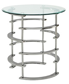 Intra Chrome End Table