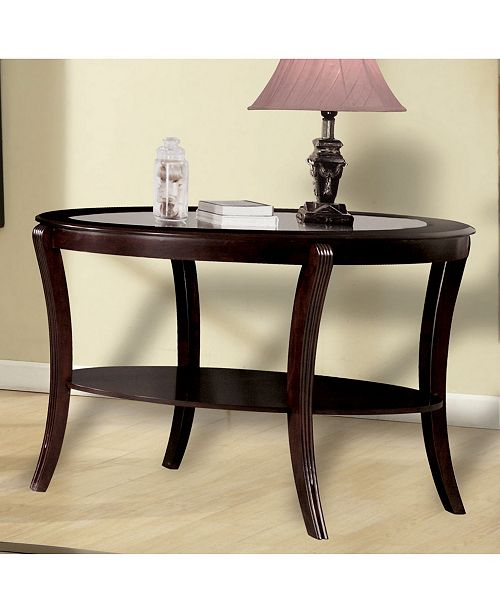 Furniture of America Stemplez Console Table