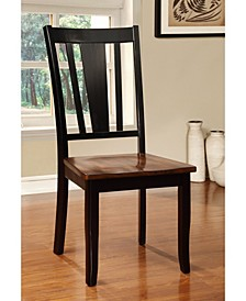 Yuxley Two-Tone Side Chair (Set of 2)