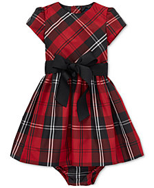 Polo Ralph Lauren Baby Girls Plaid Dress