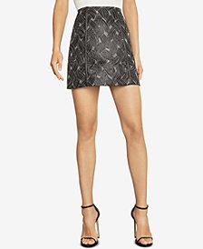 BCBGMAXAZRIA Jacquard Mini Skirt