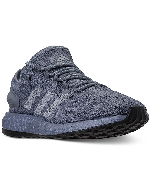 56be07f90 adidas Men s PureBOOST CB Running Sneakers from Finish Line ...