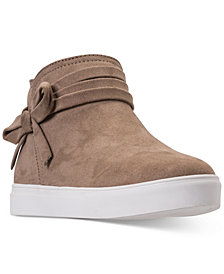 Nine West Little Girls' Carabellah Ankle Boots from Finish Line