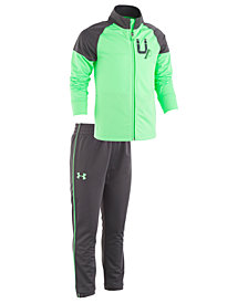 Under Armour Little Boys 2-Pc. Legendary Track Jacket & Pants Set