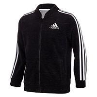 Macys deals on Adidas Toddler Girls Velour Bomber Jacket