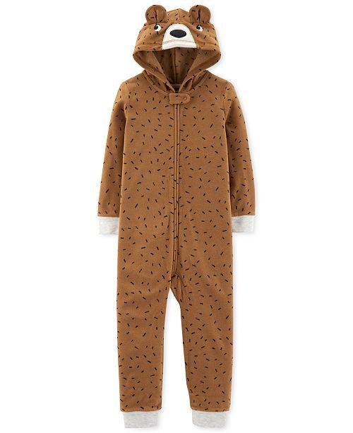 d6ba5f09f6dd Carter s Toddler Boys Hooded Bear Pajamas   Reviews - Pajamas ...