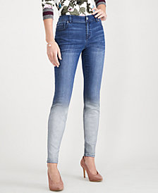 I.N.C. Ombré Skinny Jeans, Created for Macy's