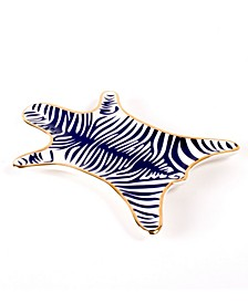 Zebra Skin Dish