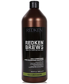 Redken Brews Daily Conditioner, 33.8-oz., from PUREBEAUTY Salon & Spa