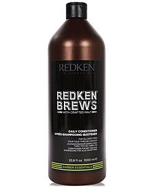 Redken Brews Daily Conditioner, 33.8-oz., from PUREBEAUTY Salon & Spa