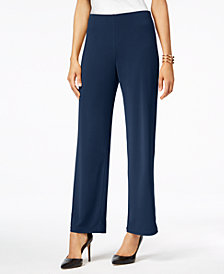 Alfani Knit Wide-Leg Pant, Created for Macy's