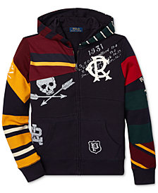 Polo Ralph Lauren Big Boys Graphic Hoodie