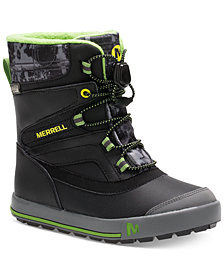 Merrell Toddler & Little Boys Snow Bank 2.0 Waterproof Boots