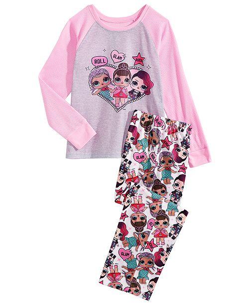 c607d7721 LOL Surprise! Little   Big Girls 2-Pc. L.O.L. Surprise! Pajama Set ...