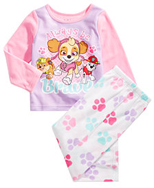 PAW Patrol Toddler Girls 2-Pc.  Pajama Set