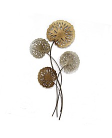 Stratton Home Decor Water Lilies Wall Decor