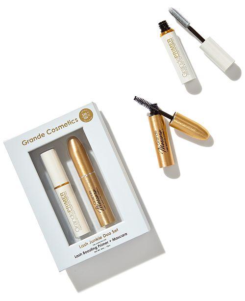 7013f442374 Grande Cosmetics Lash Junkie Set & Reviews - Makeup - Beauty - Macy's