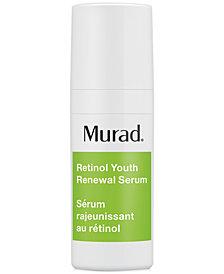 Murad Resurgence Retinol Youth Renewal Serum, 0.33-oz.