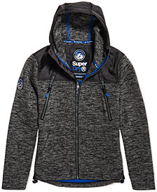 Superdry Men's Mountain Colorblocked Full-Zip Hoodie
