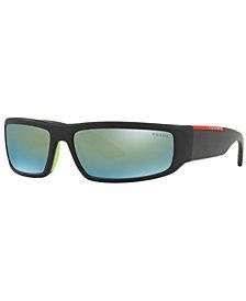 Prada Linea Rossa Sunglasses, PS 02US 65