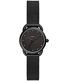 Women's Tailor Black Stainless Steel Mesh Bracelet Watch 26mm