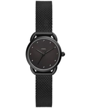 Women'S Tailor Black Stainless Steel Mesh Bracelet Watch 26Mm