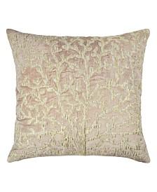 Michael Aram Sea Foam Tree of Life Applique Pillow