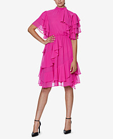 INSPR x Natalie Off Duty Flutter Ruffle Dress, Created for Macy's