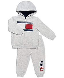 Tommy Hilfiger Baby Boys 2-Pc. Zip-Up Hoodie & Pants Set