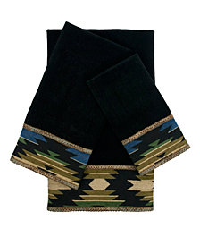 Sherry Kline Phoenix 3-piece Embellished Towel Set