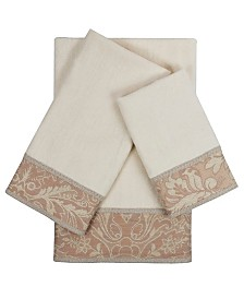 Sherry Kline Yuma 3-piece Embellished Towel Set