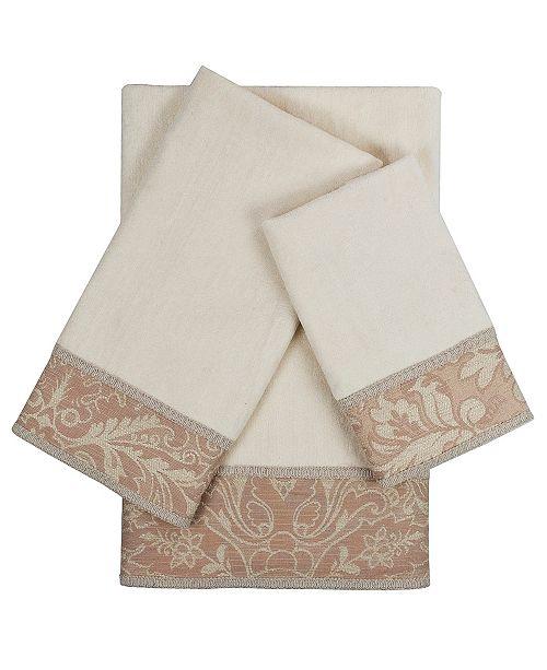 Sherry Kline Yuma 3-piece Embellished Towel Set